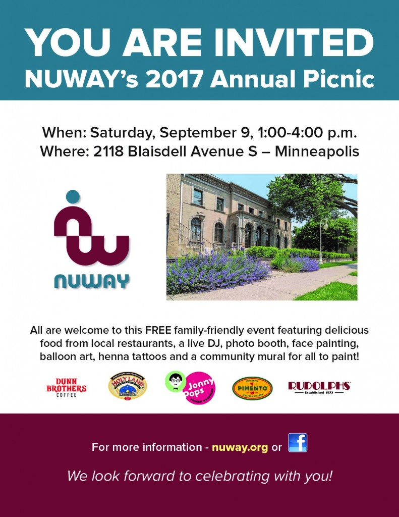 NUWAY Annual Picnic Flier